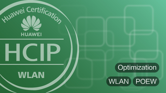 HCIP-WLAN-POEW Training