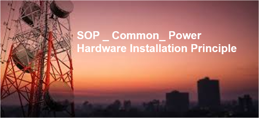 SOP_Common_Power Hardware Installation ISDPENMD001