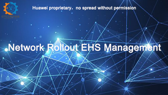 Network Rollout EHS management ISDPENNE007