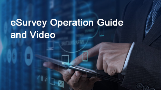 eSurvey Operation Guide and Video ISDPENNF012